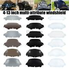 """4.5"""" 6"""" 7"""" 8"""" 9"""" 10"""" Wave Windshield Fairing Windscreen For Harley Touring USA image"""