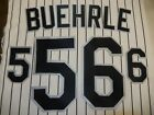 CHICAGO WHITE SOX Number KIT Authentic HOME WHITE Baseball JERSEY