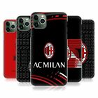 OFFICIAL AC MILAN CREST PATTERNS HARD BACK CASE FOR APPLE iPHONE PHONES