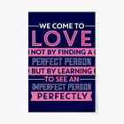 """Perfect Romantic For Wife Gift Poster - 24""""x36"""""""