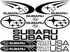 Subaru vinyl Decal set of 10 in 1, Auto, laptop, phone, tablet, Bumper Sticker