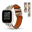 Best Fitbit For Men - Replacement Leather Watch Wrist Band Bracelet for Fitbit Review