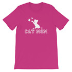 Cat Mom Women's T-Shirt Cat Lover Gift Crazy Cat Lady Rescue Mom Mama Shirts