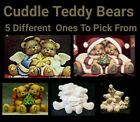 5 Different Small Teddy Bear Cuddle 4 U 2 Pick From Unpainted Ceramic Bisque  image