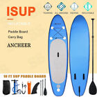 Ancheer 10ft 6' Inflatable SUP Stand Up Paddle Board  Paddle  Pump & Carry Bag
