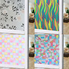 JAP US Frosted Glass Privacy Screen Door Window Static Cling Cover Self Adhesive