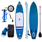 4 Types Beginner Inflatable Stand Up Paddle Board iSUP Sufing+Adjustable Paddle