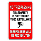 Decal Video Surveillance Security Camera Monitored 24 Hour Warning Sticker Ds001