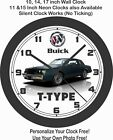1987 BUICK REGAL T-TYPE WALL CLOCK-GRAND NATIONAL, GNX, IMPALA, CAMARO