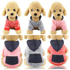 Pet Dog Cat Autumn  Hooded Hoodies Sweatshirts Casual Puupy Warm Winter Apparel
