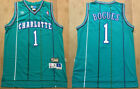 New Men's Charlotte Hornets #1 Tyrone Bogues Basketball jersey Mesh Blue S-XXL on eBay