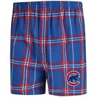 Chicago Cubs Concepts Sport Hillstone Flannel Boxers - Royal/Red on Ebay