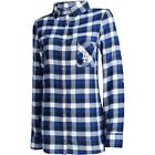 Los Angeles Dodgers Concepts Sport Women's Plus Size Piedmont Flannel Nightshirt on Ebay