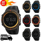 SKMEI Men's Digital Smart Watch Waterproof Pedometer Photography Sport Reminder~ image