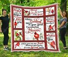 When A Cardinal Appears In Your Yard It's A Visitor Ver.2 Fleece Blanket 50-80