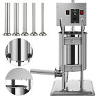 Electric/Manual Sausage Filler Stuffer Vertical Kitchen Equipment Salami Maker