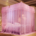 Mosquito Net Bed Queen 1.8mX2m Home Bedding Lace Canopy Elegant Netting Princess image