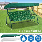 "Outdoor Garden 3-Person Swing Top Cover Canopy Replacement Porch Patio 84""x48"""