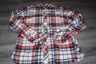 WOMENS JOULES WARM SUPER DUPER CHECKED SHIRT SIZE 8