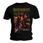 Official Iron Maiden T Shirt Somewhere In Time Stranger Sepia Classic Rock...