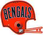 CINCINNATI BENGALS HELMET Vinyl Decal / Sticker ** 5 Sizes ** $3.97 USD on eBay