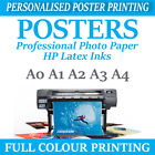 Ikea Style Poster Sizes Your PHOTO ON PAPER PERSONALISED POSTER prints
