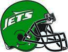 NEW YORK JETS HELMET Vinyl Decal / Sticker ** 5 Sizes ** $5.95 USD on eBay