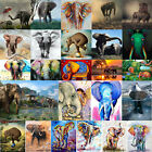 DIY Full Drill Elephant Diamond Painting Embroidery Cross Stitch Kit Craft Decor £6.29 GBP on eBay