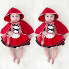 Lovely Newborn Toddler Baby Girl Tutu Skirt Photo Prop Costume+Cape Cloak Outfit