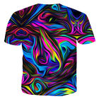 Funny Hypnosis 3D T-Shirt Tee Men Graphic Casual Fashion Short Sleeve Tops M-5XL image