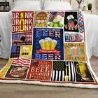 Keep Calm And Have A Beer Sofa Fleece Blanket 50x60x80 Made In US