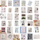 Silicone Clear Stamps Rubber Scrapbook Embossing Transparent Paper Carft Xmas
