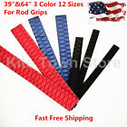 "3 Colors 12 Sizes Heat Shrink Wrap Tubing X-Tube, 39""&64"" Lengths for Rod Grips"
