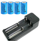 16340 Battery 1800mAh CR123A Rechargeable 16340 Battery 3.7V Li-ion with charger