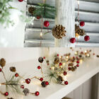 2m 20leds Led Pine Cone String Lights Xmas Garland Home Party Lamp Wedding Decor