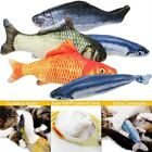Fish Shape Cat Kitten Toy Chewing Simulation Pillow Stuffed Mint Pet Catnip Toys