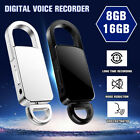 Mini Spy Audio Recorder Voice Activated Listening Device 90 Hours Keychain Life