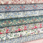 Liberty Art Fabric ~ Meadow / quilting dressmaking strawberry thief floral green