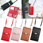 Fashion Crossbody Mobile Phone Shoulder Bag Pouch Case Handbag Purse Wallet Card
