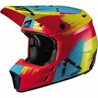 Leatt GPX 3.5 V19.1 Helmet - Red/Lime Green/Light Blue, All Sizes