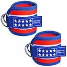 Workout Ankle Strap Straps For Cable Machine Gym Accessories Single Or Pair NEW