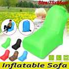 Inflatable Sofa Air Lounger Couch Home Outdoor Camping Beach Seat Bed Lazy Chair