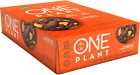 ISS Research ONE PLANT BAR, 12 Vegan Protein Bars - CHOCOLATE PEANUT BUTTER