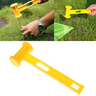 1PC Outdoor Awning Canopy Tent Peg Plastic Hammer Nail Stake Extractor Pulle JMD