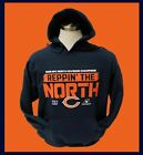 Chicago Bears Mens Navy Blue Hoodie 2018  REPPIN' THE NORTH $27.99 USD on eBay