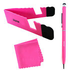 iHome Tablet and Smartphone 3-in-1 Microfiber Cloth, Stylus Pen & Stand Bundle