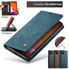 iPhone 11 Pro XS Max XR X 8 7 Plus Case Magnetic Leather Wallet Flip Stand Cover