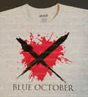 Blue October Up/Down Heart T-Shirt (Free Shipping) image