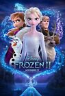 "Frozen 2- 3 people  Movie Posters 24"" x 36"" or 27""x 40"" Anna, Elsa, Kirsten Bell"