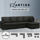 Artiss Sofa Lounge Modular Set 4/5 Seater Chaise Chair Corner Couch Ottoman